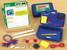 Alarm Your Pencil Box STEM Learning Lab at Lakeshore Learning.....buy my own stuff and do cheaper?