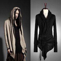 Casual Punk Dark Vijo Hood Cardigan ByTheR Korean Fashion FJSELFAA0008039 AU