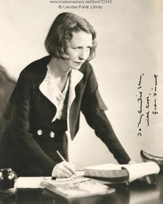 "Edna St. Vincent Millay, known for her poetry that focused on feminists themes and sexual freedom, began her literary career at the age of 20. Born in Rockland, Maine in 1892 she won the Pulitzer Prize for her book ""Harp-Weaver.Her famous quote ""My candle burns at both ends, It will not last the night; But ah, my foes, and oh, my friends, It gives a lovely light!"