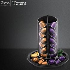 Nespresso TOTEM Glass Collection, Garden, Lawn, Maintenance - http://nespressoshop.net/nespresso-totem-glass-collection-garden-lawn-maintenance