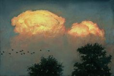 Rob Evans Art   Thunderheads, Dusk