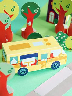 Free - PRINTABLE NEIGHBORHOOD NR 38  – LET'S GO CAMPING! - Remember them all (1-38)