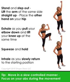 Floorless Crunches!  Lose your Loveshandles Workout - the best exercises to trim inches from your waistline