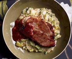 Braised Pork With Cherry Gravy