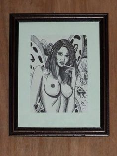 Framed sketch