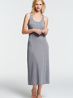 Sleepover Cotton Knit Gown
