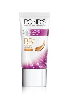 Achieve a flawless look with Pond's Flawless Radiance BB+ Cream Bb Creams, Lotions, Beauty Skin, Pond, Make Up, Skin Care, Personal Care, Nails, Finger Nails