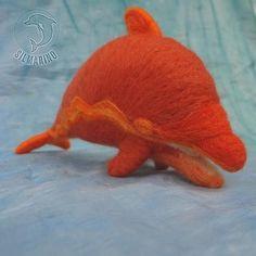 Orgonfín ohnivý - orgonitový delfín - talisman | Zobrazit plnou velikost fotografie