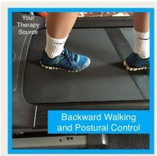 Backward Walking and Postural Control-pinned by @PediaStaff – Please Visit ht.ly/63sNtfor all our pediatric therapy pins