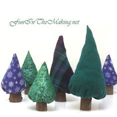 winter tree craft - fun for the kids to play with dolls, building block cities or cars...