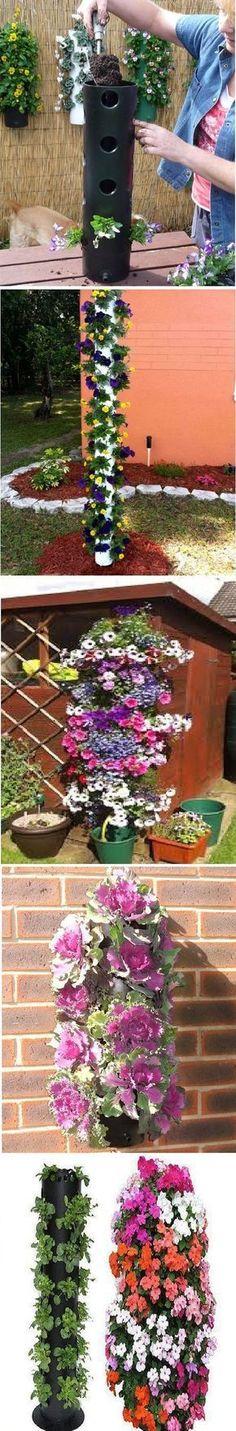 Polanter Vertical Gardening System [video] - Garden DIY LIfe