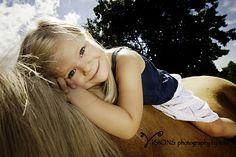 Children's Photography, Horses