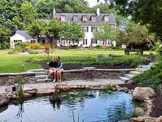 Auburn, NY   The 10 Fitch-Luxurious Romantic Inn is the epitome of sophistication and serenity. Located in the Finger Lakes Region, the destination is perfect for relaxing by the water and visiting the local wineries. This adults-only inn is known for its gourmet cuisine and quiet atmosphere.