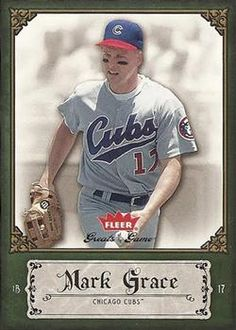 2006 Fleer Greats of the Game #64 Mark Grace Front