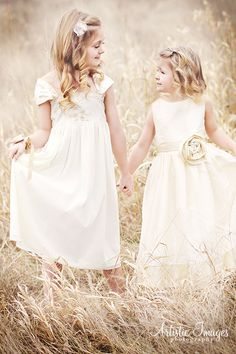 Vintage Style Flower Girl dress with french lace by SashCouture1, $225.00