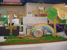 Students make leprechaun traps