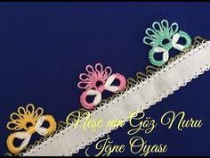 Needle Lace Infinity Model Shining with Tricks - CLEA Crochet Flower Tutorial, Crochet Flowers, Infinity Models, Point Lace, Needle Lace, Baby Knitting Patterns, Tatting, Tassels, Youtube