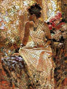 D0019c7891abca0e2b610c63ac4d8a76 Mosaic Tile Art, Mosaic Artwork, Pebble Mosaic, Mosaic Diy, Mosaic Crafts, Mosaic Glass, Glass Art, Stained Glass, Mosaic Portrait
