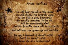 Amas Veritas - Love Spell from Practical Magic.