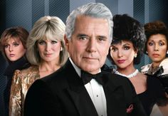 Dynasty - loved the soap opera drama. A must see every week.