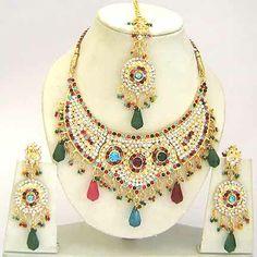 Diamond Bridal Jewelry Set JVS-1648