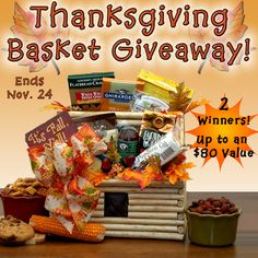 thanksgiving basket giveaway