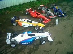 Formula One Car Paper Model (simple)