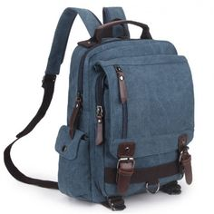 Unique Multifunction Multi Zippers Square Canvas Shoulder Bag School B – wikoco Lace Backpack, Travel Backpack, Backpack Bags, Leather Backpack, Fashion Backpack, Outdoor Backpacks, Boys Backpacks, School Backpacks, Canvas Shoulder Bag