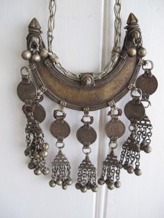 Vintage banjara tribe necklace.