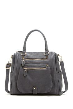 Double Zip Front Satchel by Segolene Paris on @HauteLook