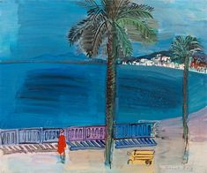 View Nice, la promenade des anglais by Raoul Dufy on artnet. Browse more artworks Raoul Dufy from Galerie Messine. La Promenade Des Anglais, Raoul Dufy, Global Art, French Artists, Urban Landscape, Art Market, Paintings For Sale, Nice, Original Artwork