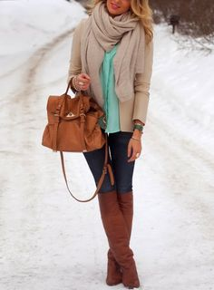 mint for winter -LOVE!!