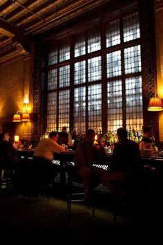 The Campbell Apartment in Grand Central Terminal (Manhattan), now a cocktail bar. Featuring original decor from when it was a business magnate's private salon.