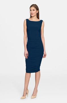 Catherine Catherine Malandrino 'Lindz' Ruched Jersey Dress available at #Nordstrom