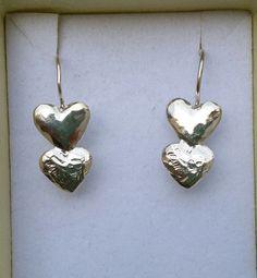 Silver Dangle Earrings Sterling Silver 925 Dangle by TalyaDesign