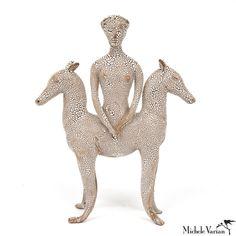 Weird and wonderful. Horse Goddess Sculpture