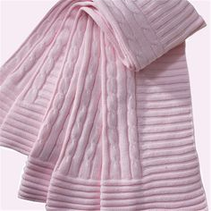 Cable Knit Blankets by Elegant Baby