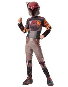 #Trendy Halloween - #Rubies Star Wars Rebels Sabine Child Costume - AdoreWe.com
