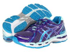 Great workout shoes ASICS Women's Gel-Kayano 19 Running Sho yup just ordered them from zappos  ;) luv the colors. I bought them for 110.00 of zappos n love them!!