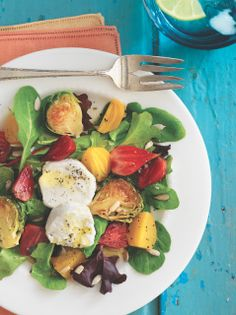 Belle Chevre: Eat Clean Recipe | Goat Cheese Salad