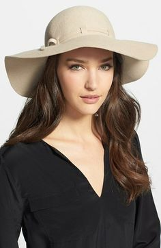 Collection XIIX Floppy Wool Felt Hat available at #Nordstrom - Want in Black