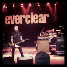 Everclear instagr.am'ed  Inivisible Stars