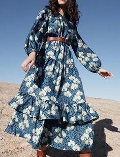 Borgo de Nor Resort 2019 - Spring Outfits Long Summer Dresses, Trendy Dresses, Casual Dresses, Floral Dresses, Fashion Week, Fashion Show, Fashion Fashion, Modest Fashion, Fashion Dresses