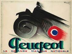 CHARLES LOUPOT (1892-1962).   Peugeot, 1926.