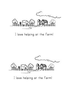 Helping at the Farm - Free Emergent Reader - Multiple Levels