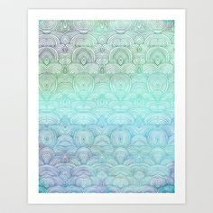 Up In The Sky Art Print by Pom Graphic Design  - $18.00