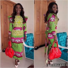 Check out This Smart Looking Ankara Gown Styles - DeZango Fashion Zone