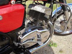 Jawa 350cc with disc brake  More photos on - http://ift.tt/1MOOLiU (Link in…