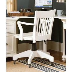 white wood office chair home office pinterest white wood and woods