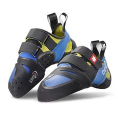 #Ocun - OZONE QC PLUS - Offers all the advantages of the Ozone shoes to climbers with wider feet. #ClimbingShoes #RockClimbing